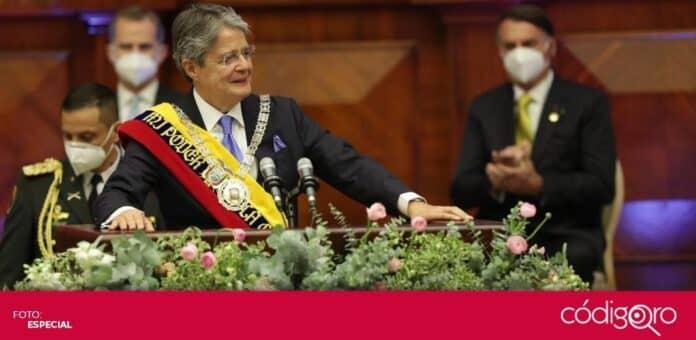 El exbanquero Guillermo Lasso es el nuevo presidente de Ecuador. Foto: Especial