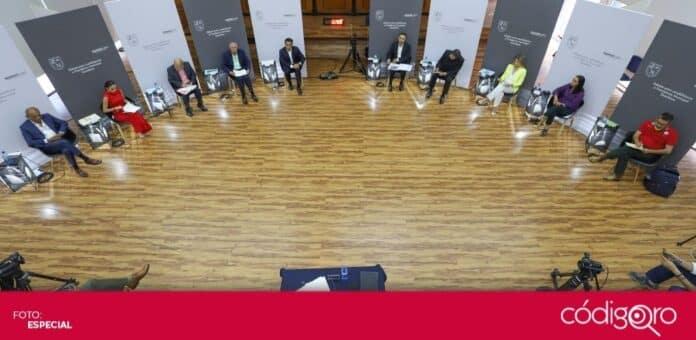 Tres mujeres y siete hombres contienden por la presidencia municipal de Querétaro. Foto: Especial