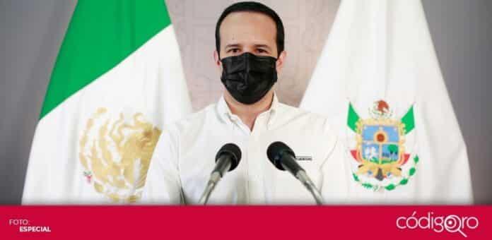 El vocero organizacional COVID-19 del Gobierno del Estado de Querétaro, Rafael López González, hizo un llamado a seguir usando cubrebocas. Foto: Especial