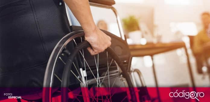 Personas con discapacidad piden al Congreso Local aprobar reforma. Foto: Especial