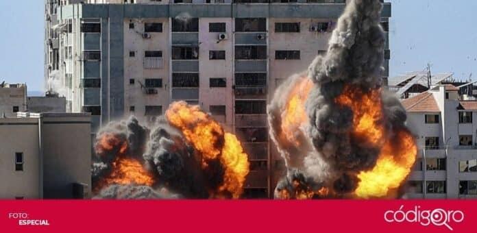 Israel lanzó bombardeos contra las oficinas de AP y Al-Jazeera en la Franja de Gaza. Foto: Especial
