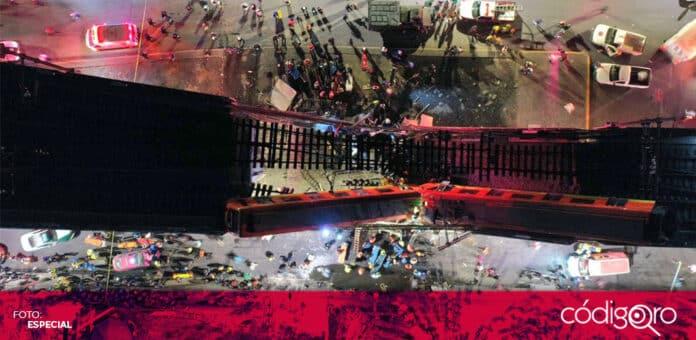 Confirman 13 muertos y 70 heridos tras colapso de la Línea 12 del Metro de la Ciudad de México. Foto: Especial