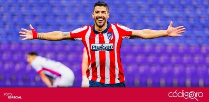 Con gol de Luis Suárez, el Atlético de Madrid se coronó campeón de la Liga Española. Foto: Especial
