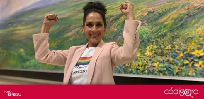 La candidata del PT a la gubernatura del estado de Querétaro, Penélope Ramírez, participó en el segundo debate. Foto: Especial