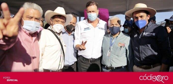 El Frente por Querétaro anunció que se unirá al proyecto del candidato común del PAN y QI a la gubernatura, Mauricio Kuri González. Foto: Especial