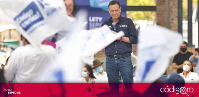 El PAN afirmó que Mauricio Kuri no está condicionando el voto con la entrega de la tarjeta Contigo. Foto: Especial