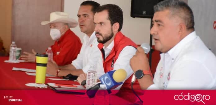 El PRI denuncia presunta compra de credenciales y actos de vandalismo en el municipio de Colón. Foto: Especial