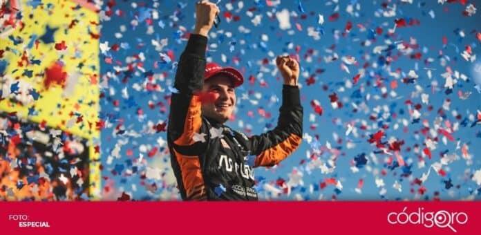 El piloto mexicano Patricio O'Ward ganó su primera carrera en la IndyCar Series. Foto: Especial