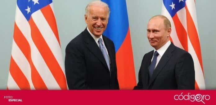 El 16 de junio, los presidentes de Estados Unidos y Rusia, Joe Biden y Vladímir Putin, respectivamente, se reunirán en Ginebra. Foto: Especial