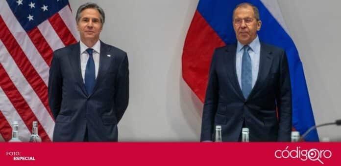 Los jefes de las diplomacias de Estados Unidos y Rusia se reunieron por primera vez durante la Administración Biden. Foto: Especial