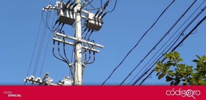 Este sábado y domingo se suspenderá el servicio de energía eléctrica en el municipio de Amealco de Bonfil. Foto: Especial