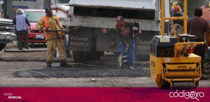 Siguen los trabajos de rehabilitación en las zonas afectadas por las lluvias en el norte de la ciudad de Querétaro. Foto: Especial