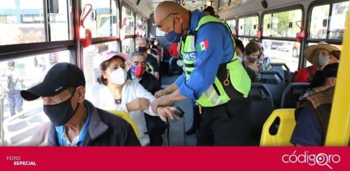 El municipio de Querétaro proporcionará transporte a las personas de 50 a 59 años para que se vacunen contra COVID-19. Foto: Especial
