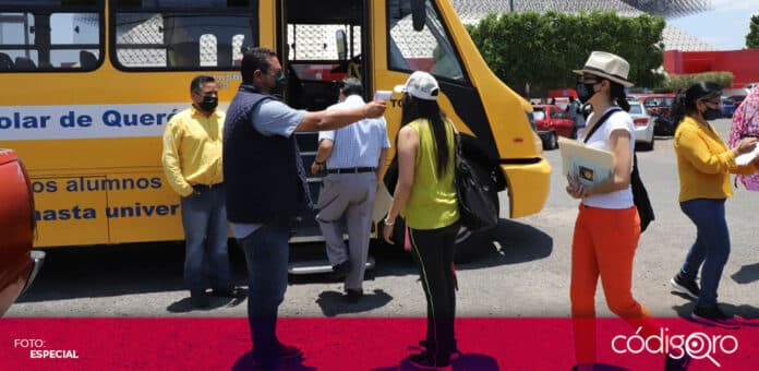 La Secretaría de Movilidad del Municipio de Querétaro proporciona transporte gratuito a mujeres embarazadas y profesores. Foto: Especial