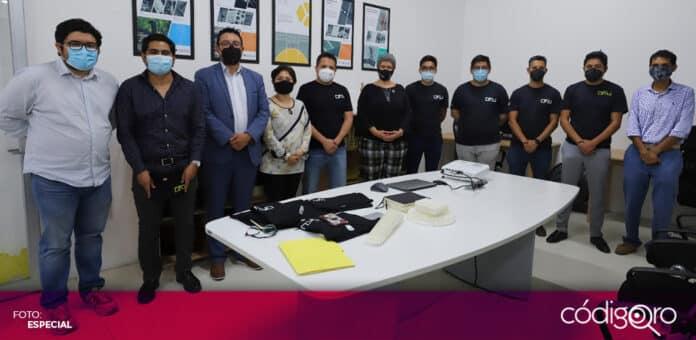 La rectora de la UAQ, Teresa García Gasca, inauguró el Despacho Universitario de Diseño Industrial. Foto: Especial