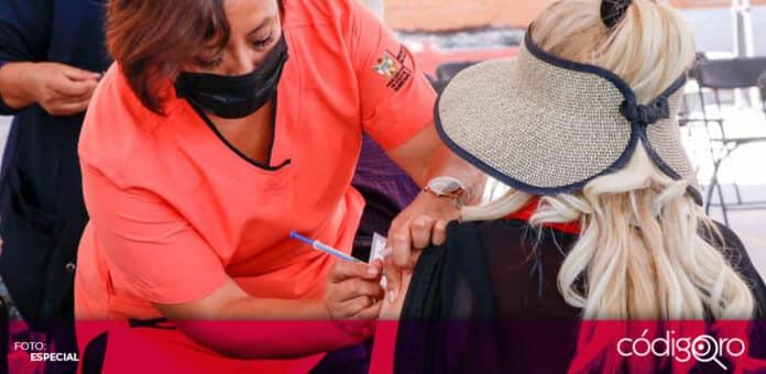 Comienza la vacunación contra COVID-19 para adultos de 50 a 59 años en Corregidora. Foto: Especial