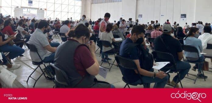 Más de 24 mil trabajadores del sector educativo del estado de Querétaro han sido vacunados contra COVID-19. Foto: Especial