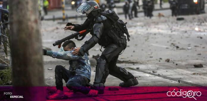 La comunidad internacional ha criticado la violencia de las fuerzas de seguridad de Colombia. Foto: Especial