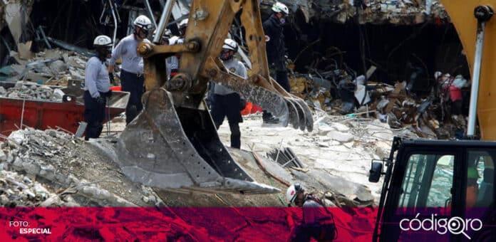 Suman 11 personas muertas por desplome de edificio de departamentos en Florida. Foto: Especial