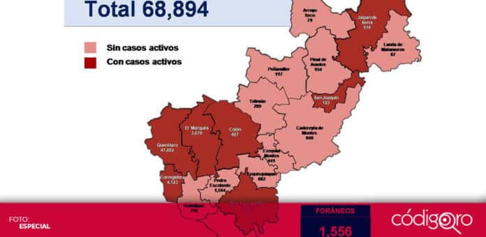 Suman 11 municipios del estado de Querétaro sin casos activos de COVID-19. Foto: Especial