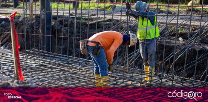 La CMIC Querétaro admitió que el sector de la construcción atraviesa una situación adversa. Foto: Especial