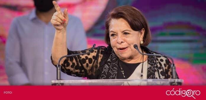 Ejidatarios de San Rosa Jáuregui presentaron un proyecto a la candidata de Morena a la gubernatura, Celia Maya García. Foto: Obture Press