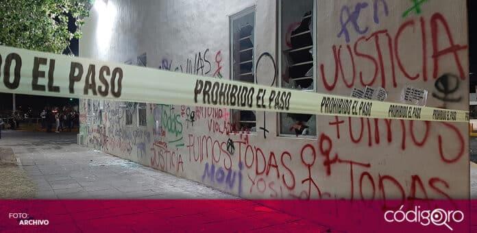 Por lo menos 2 mujeres han sido detenidas por su presunta participación en la protesta del 8 de marzo. Foto: Archivo