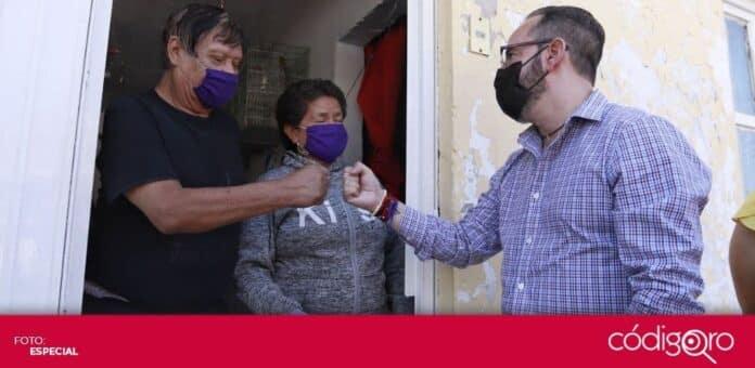 El municipio de Querétaro reanudó la entrega de credenciales a beneficiarios del programa Médico en tu Calle. Foto: Especial
