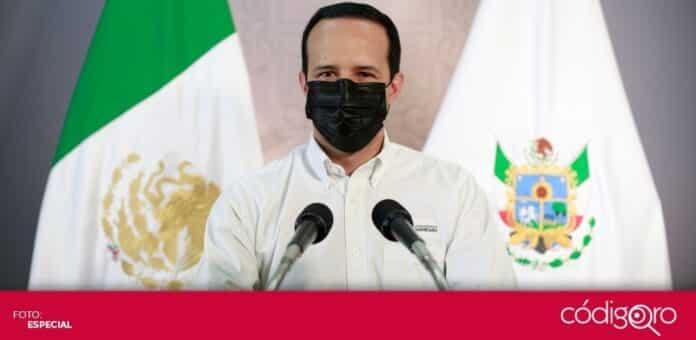 El vocero organizacional COVID-19, Rafael López González, insistió en el uso de cubrebocas. Foto: Especial