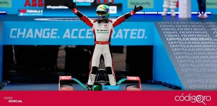 Drama en la carrera de la Fórmula E en la ciudad de Puebla. Foto: Especial