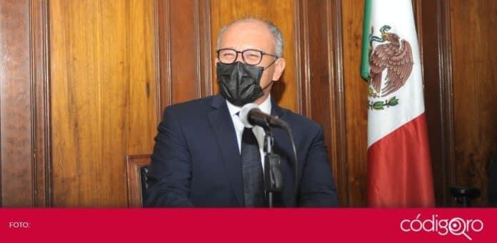 El secretario de Gobierno del estado de Querétaro, Juan Martín Granados Torres, garantizó que las elecciones serán tranquilas. Foto: Obture Press