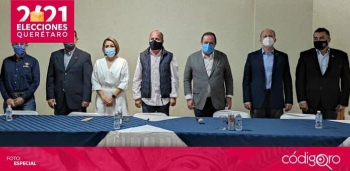 Empresarios exhortaron a Celia Maya García para que acepte los resultados electorales. Foto: Especial