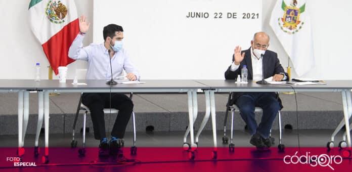 Diputados locales de Querétaro exhortaron al IQT para redefinir la estrategia de servicio y costo del transporte público. Foto: Especial