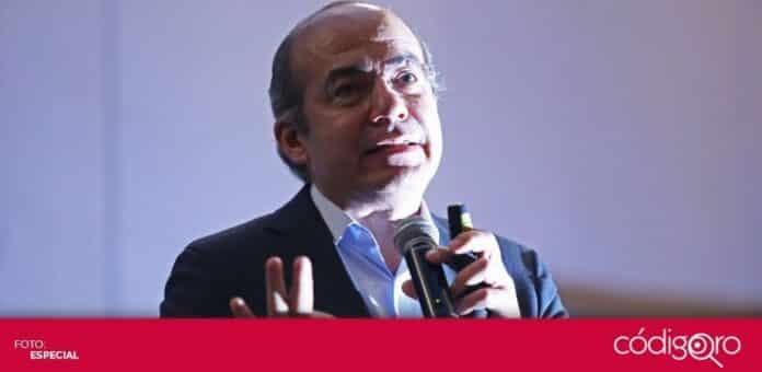 El expresidente de México, Felipe Calderón Hinojosa, informó que resultó positivo a COVID-19. Foto: Especial