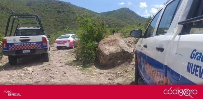 Reportan feminicidio en la comunidad de Santa Isabel El Coto, municipio de San Juan del Río. Foto: Especial