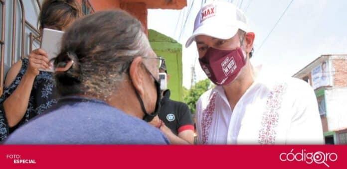 El candidato de Morena a la presidencia municipal de Querétaro, Arturo Maximiliano, dijo confiar en las instituciones electorales. Foto: Especial