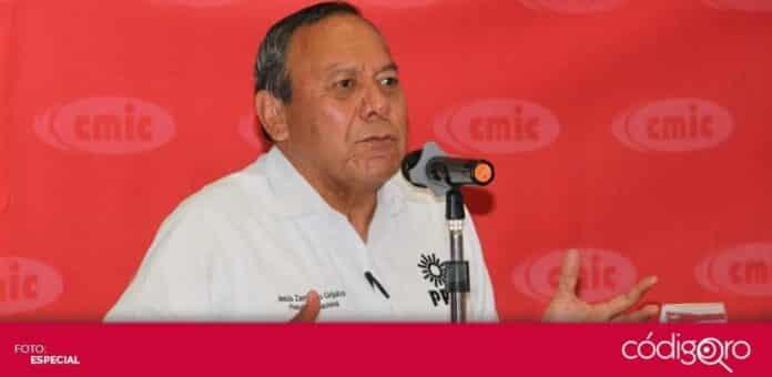 El líder nacional del PRD, Jesús Zambrano Grijalva, realizó una visita al estado de Querétaro. Foto: Especial