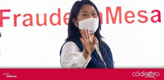 La candidata derechista Keiko Fujimori denunció fraude en la segunda vuelta de las elecciones presidenciales de Perú. Foto: Especial
