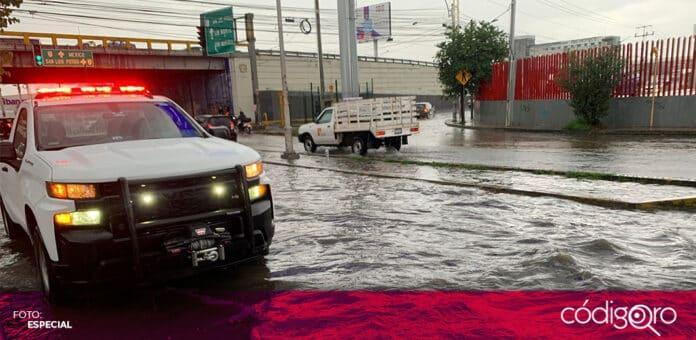 Durante toda esta semana, se registrarán lluvias en el estado de Querétaro. Foto: Especial