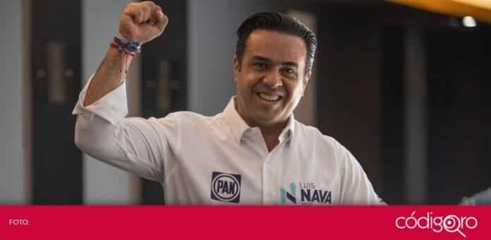 El candidato común del PAN y QI a la presidencia municipal de Querétaro, Luis Bernardo Nava Guerrero, expuso sus propuestas en entrevista. Foto: Obture Press