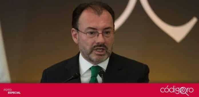 La Secretaría de la Función Pública inhabilitó durante 10 años para ocupar cargos públicos a Luis Videgaray Caso. Foto: Especial