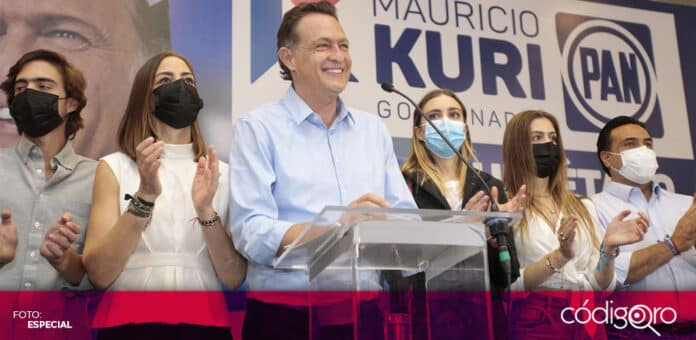 El gobernador electo del estado de Querétaro, Mauricio Kuri González, pidió una reunión con López Obrador. Foto: Especial