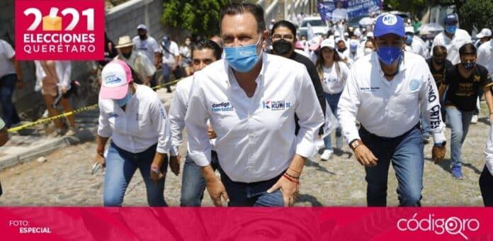 Mauricio Kuri González es el virtual gobernador electo del estado de Querétaro. Foto: Especial