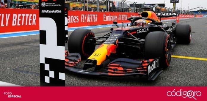 El piloto neerlandés de Red Bull, Max Verstappen, saldrá primero en el Gran Premio de Francia. Foto: Especial
