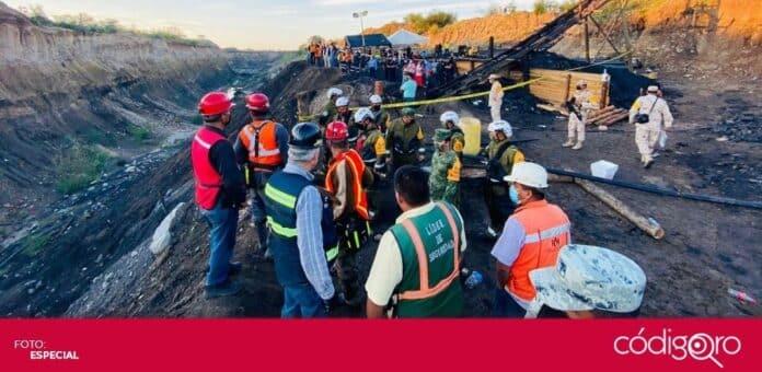 Seis mineros siguen atrapados dentro de la mina Micarán en Múzquiz, Coahuila. Foto: Especial