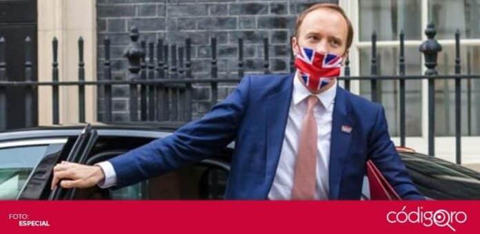 El ministro de Salud del Reino Unido se vio obligado a renunciar como consecuencia de una affair. Foto: Especial