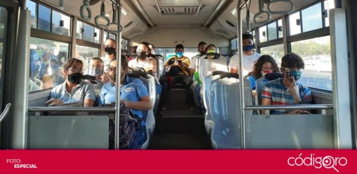 La pandemia de COVID-19 provocó pérdidas en el sector del transporte público. Foto: Especial