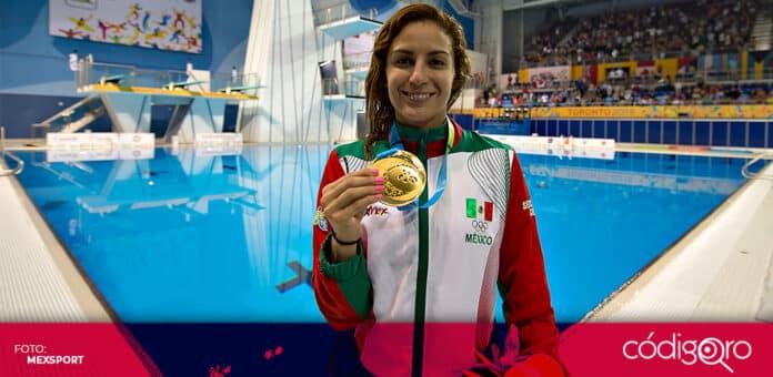La clavadista mexicana Paola Espinosa no participará en los Juegos Olímpicos de Tokio. Foto: Mexsport