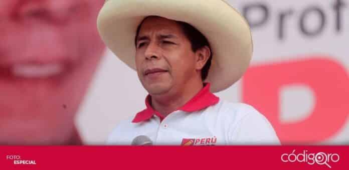 El candidato izquierdista Pedro Castillo lidera el conteo de votos en la segunda vuelta de las elecciones presidenciales en Perú. Foto: Especial