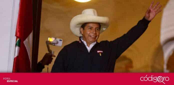 El candidato izquierdista Pedro Castillo lidera el conteo de votos en Perú. Foto: Especial